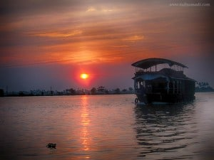 How to cruise along the Kerala backwaters