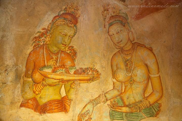 Sigiriya-Painting