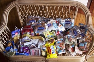 Can you bring backpacking food to Chile?