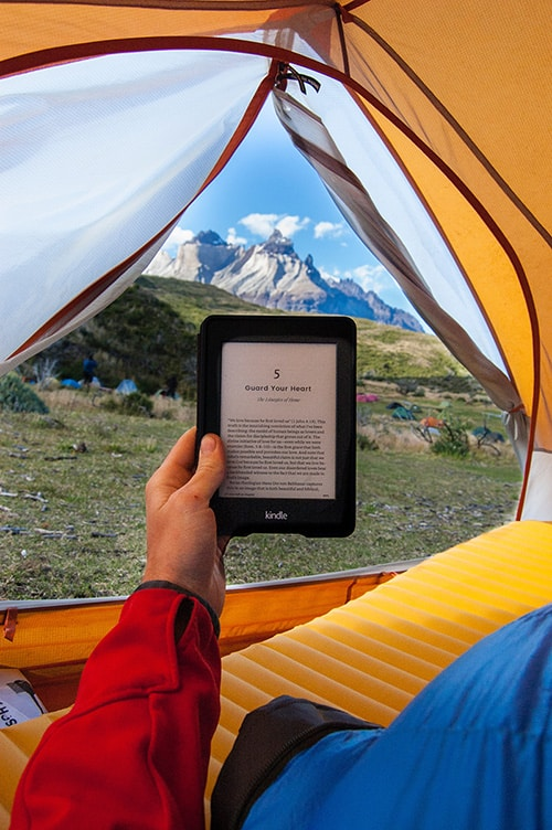 Camping at Torres Del Paine
