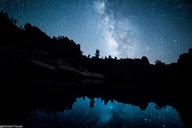 Nightsky at Pinnacles National Park