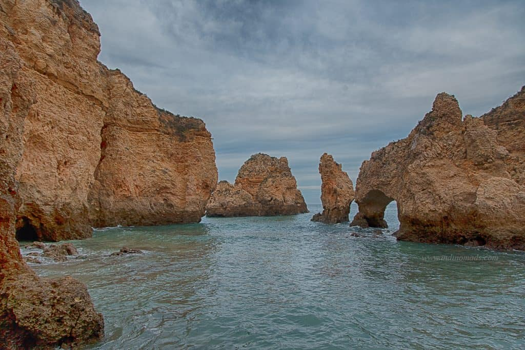 Rock formations of algarve