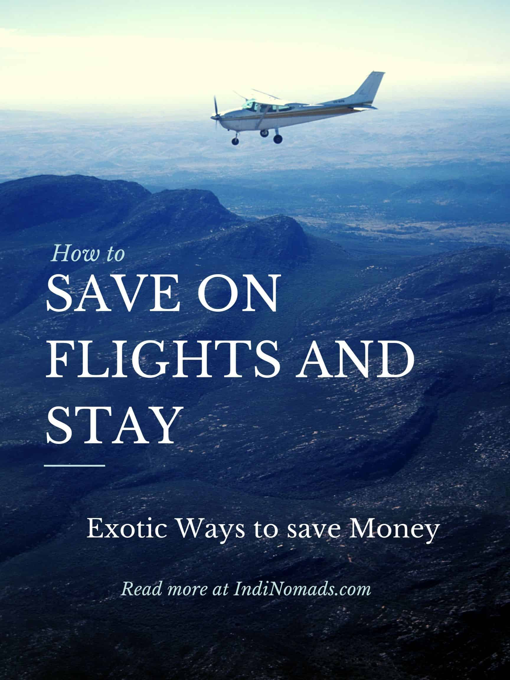 Save on flights and stays