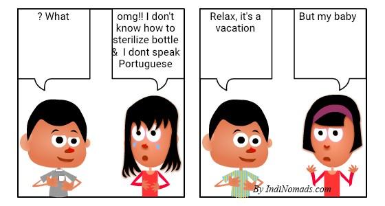 Sterilize feeding bottle