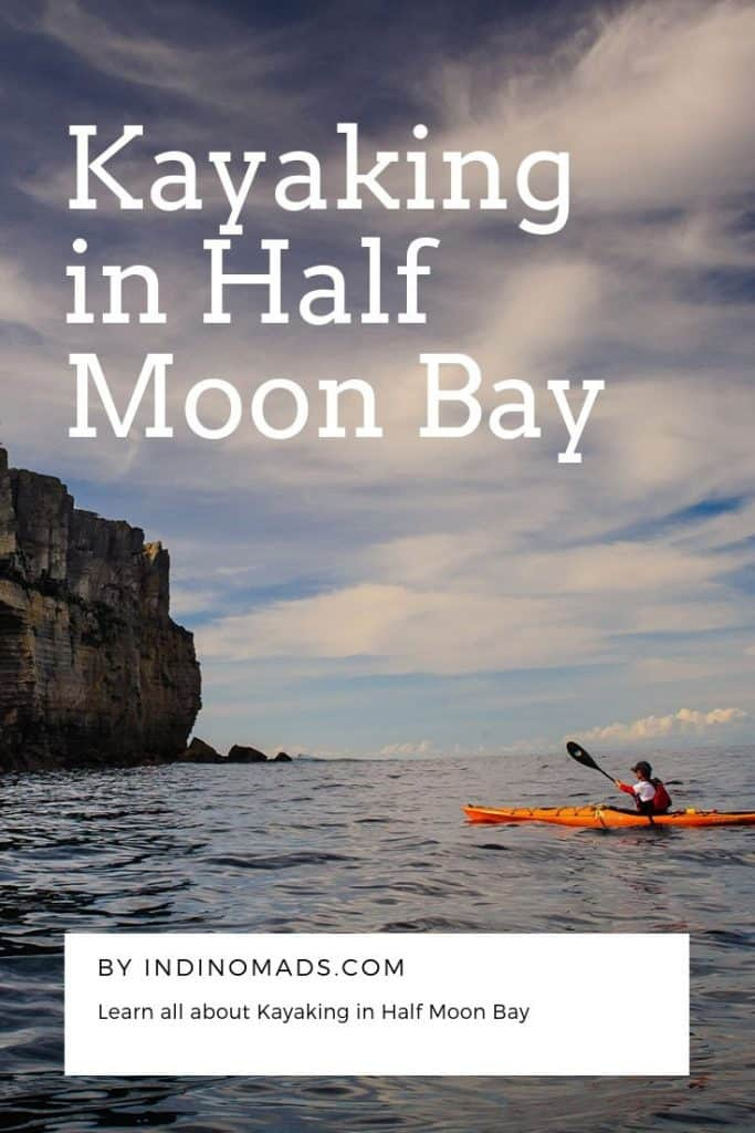 Kayaking in Half Moon Bay