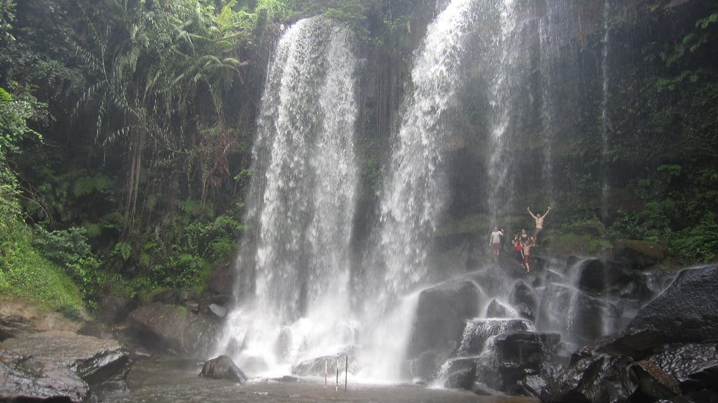 Phnom Kulen waterfalls