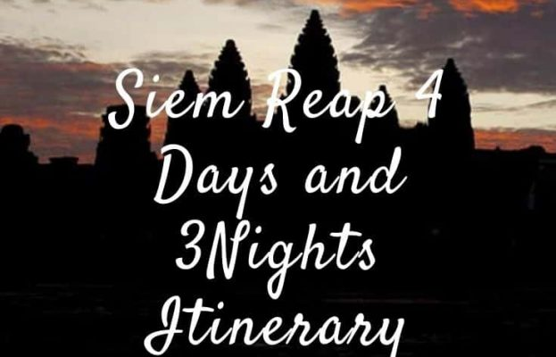 Siem Reap Itinerary 4 Days and 3 Nights