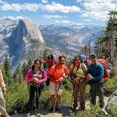 Pohono Trail, Yosemite – Glacier Point to Tunnel View