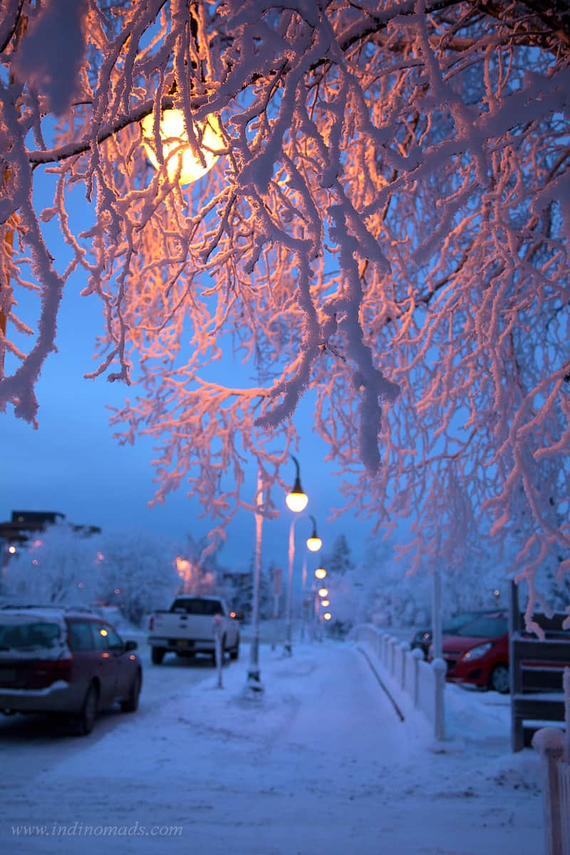 What Is Anchorage Like In The Winter?