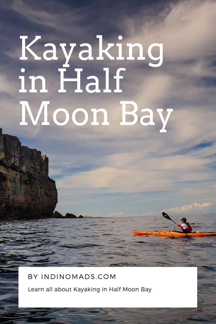 Kayaking in Half Moon Bay