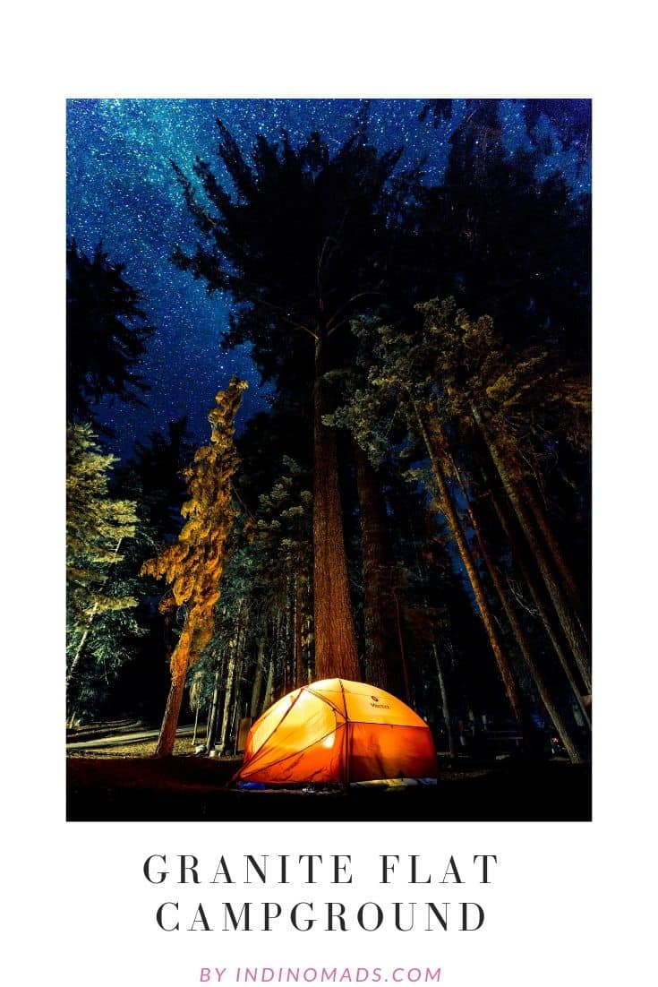 Granite Flat Campground
